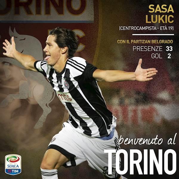 Torino, fatta per Lukic. Il serbo ha firmato un quinquennale