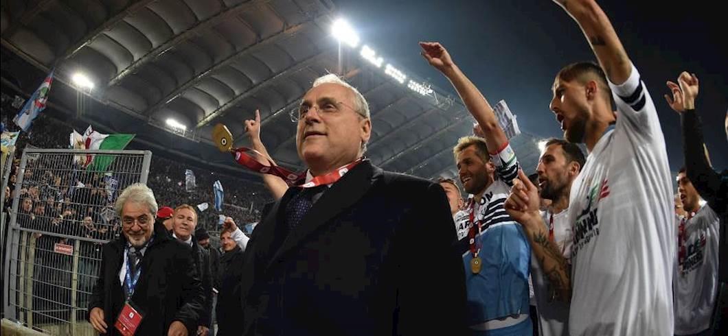 """Lazio, Lotito: """"Scudetto? Non faccio voli pindarici. Sul valore di Milinkovic..."""""""