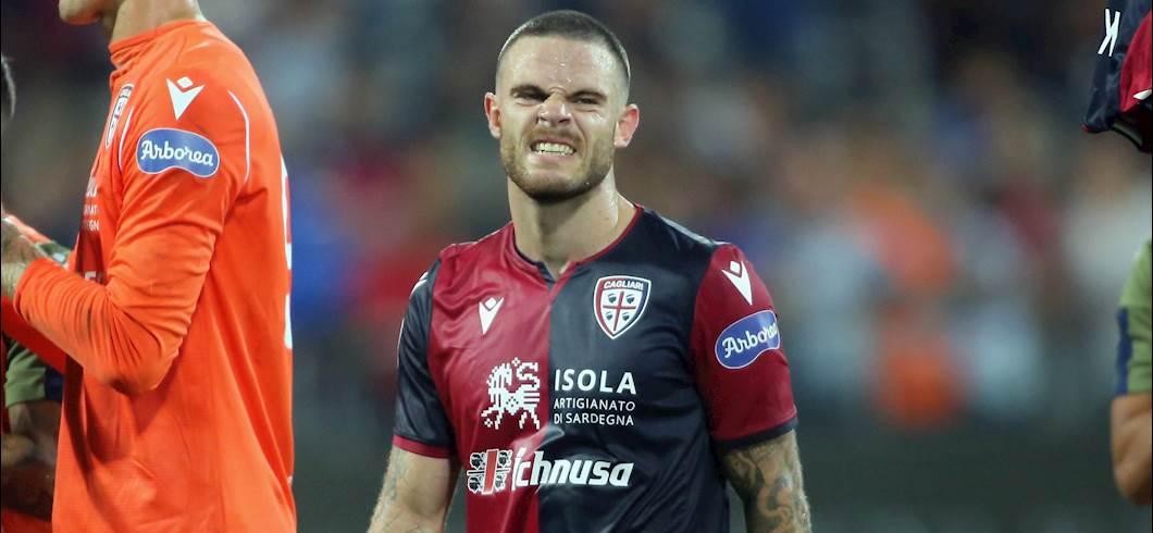 Cagliari, infortunio per Nandez: salta la Nazionale