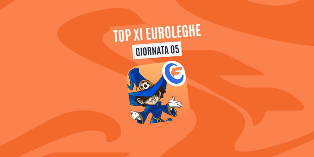 La Top XI Euroleghe - Quinta Giornata