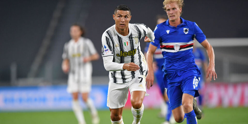 Juventus-Sampdoria 3-0, gol e highlights