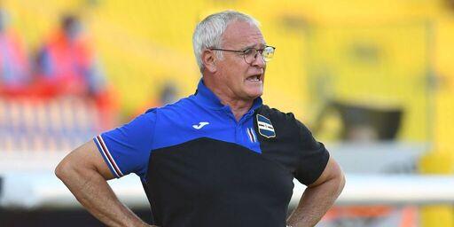 Sampdoria, la conferenza stampa di Ranieri