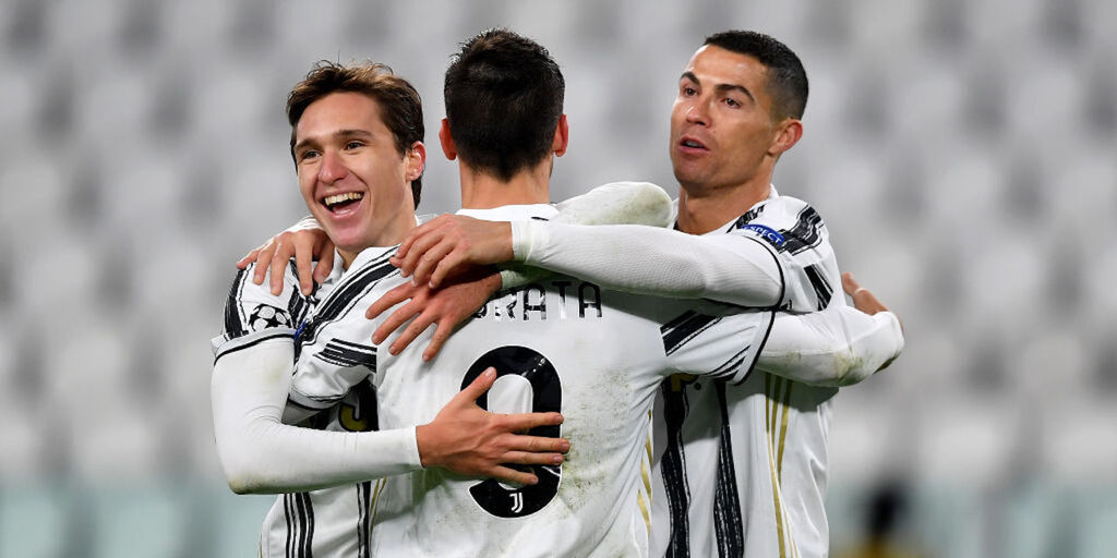 Juventus-Dinamo Kiev 3-0, cronaca e tabellino