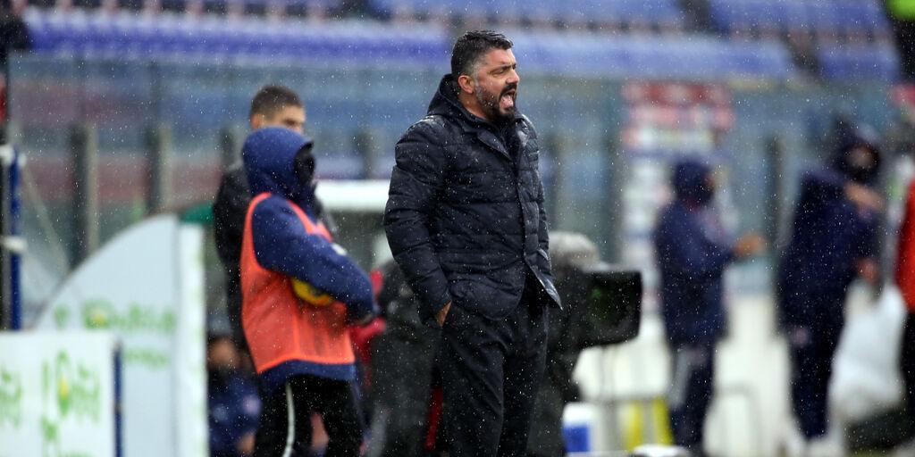 """Napoli, Gattuso: """"Speriamo di giocare così contro la Juventus"""""""