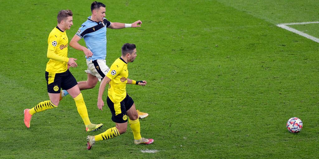 Borussia Dortmund-Lazio 1-1: gol e highlights