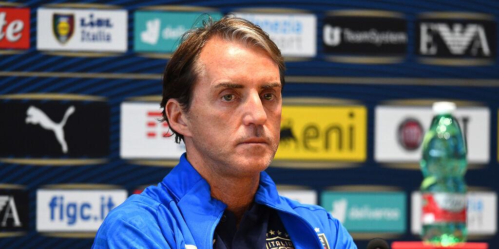 """Mancini: """"Vogliamo vincere. Verratti può giocare"""""""