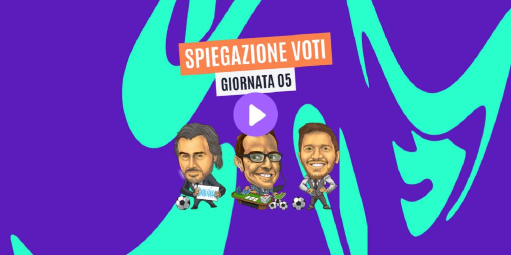 VIDEO: spiegazione voti Fantacalcio Serie A TIM 5ª giornata - Trevisani, Pardo, Giunta